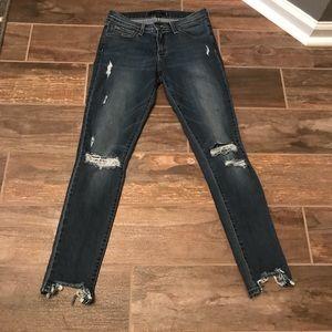 Flying monkey skinny jeans!